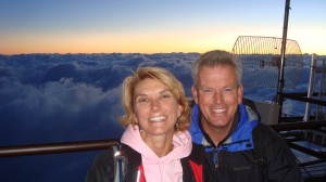 sunrise from Fuji!