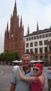 Wiesbaden town square