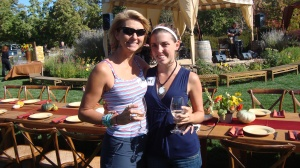 at the winery harvest festival