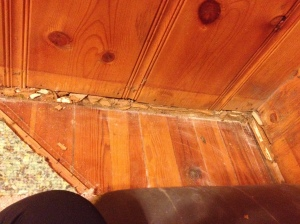 There's a real possibility that the next installment of Cottage Living will involve this floor.
