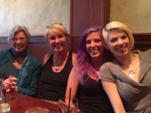 Grandma Glenda, me, Amy, Little Glenda